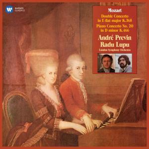 Album Mozart: Concerto for Two Pianos, K. 365 & Piano Concerto No. 20, K. 466 from Radu Lupu