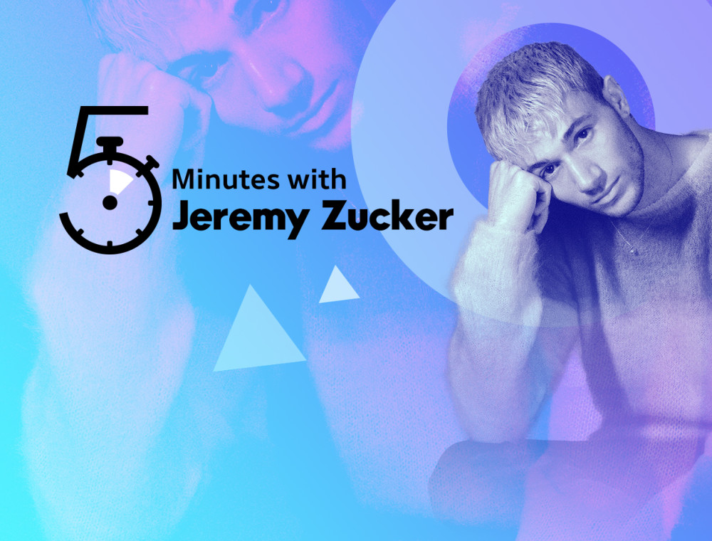 5 Minutes with Jeremy Zucker