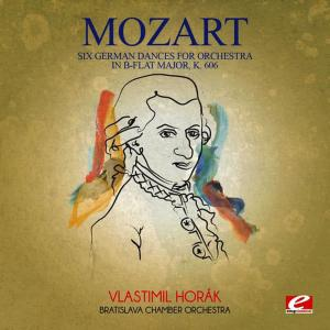 Album Mozart: Six German Dances for Orchestra in B-Flat Major, K. 606 (Digitally Remastered) from Bratislava Chamber Orchestra