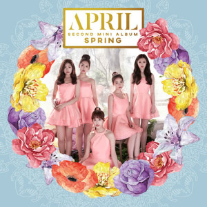 APRIL的專輯APRIL 2nd Mini Album 'Spring'
