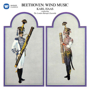 Album Beethoven: Wind Music. Marches for Military Band, Wind Octet, Op. 103 & Wind Sextet, Op. 71 from Karl Haas