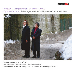 Album Mozart: Complete Piano Concertos, Vol. 2 from Yoon Kuk Lee