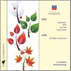 Album Verdi: Ballet Music;  Leoni: The Prayer & The Sword from The Cleveland Orchestra