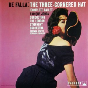 Album De Falla: The Three Cornered Hat (Complete Ballet) (Transferred from the Original Everest Records Master Tapes) from Enrique Jorda