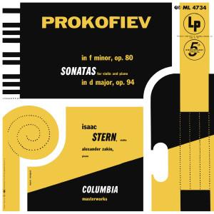 Prokofiev: Sonata in F Minor, Op. 80 & Sonata in D Major, Op. 94