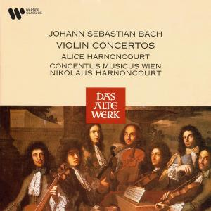 Album Bach: Violin Concertos from Alice Harnoncourt