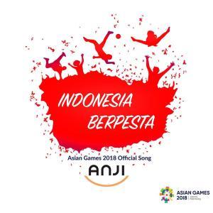 Indonesia Berpesta (Official Song Asian Games 2018) (Single) dari Anji