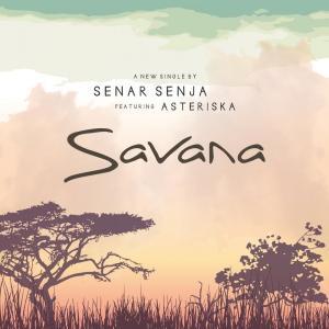 Savana dari Senar Senja