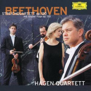 Hagen Quartett的專輯Mozart: Fugues; Adagio and Fugue K.546 / Beethoven: String Quartet Opp.130/133