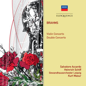Album Brahms: Violin Concerto; Double Concerto from Salvatore Accardo