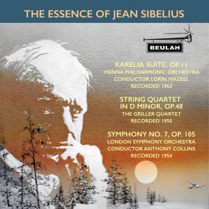London Symphony Orchestra的專輯The Essence of Jean Sibelius
