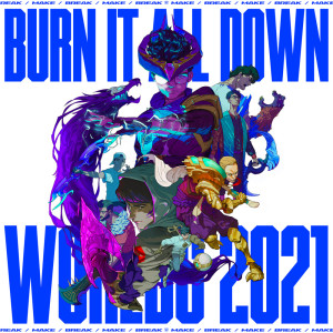 Album Burn It All Down from League Of Legends