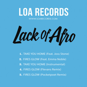 Album Take You Home from Lack Of Afro