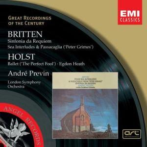 Andre Previn的專輯Britten:Sinfonia da Requiem, Peter Grimes/Holst:The Perfect Fool, Egdon Heath