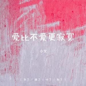 小文的專輯爱比不爱更寂寞