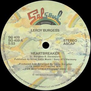 "Album Heartbreaker (Shep Pettibone 12"" Mix) from Leroy Burgess"