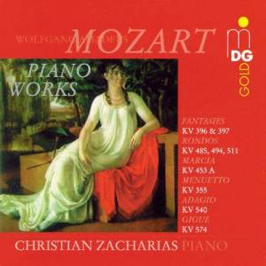 Album Mozart: Piano Works, Fantasias and Rondos from Christian Zacharias