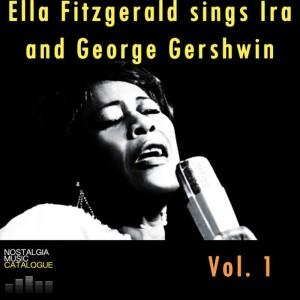 Ella Fitzgerald的專輯Ella Fitzgerald Sings IRA and George Gershwin Vol.1