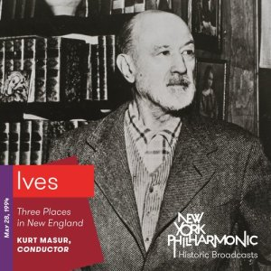 Album Ives: Three Places in New England (Recorded 1994) from Kurt Masur