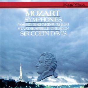 """Mozart: Symphonies Nos. 30, 31 """"Paris"""", 32 & 33"""