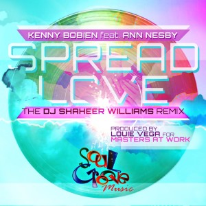 Album Spread Love (DJ Shaheer Williams Soul Groove Remixes) from Kenny Bobien