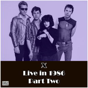 Album Live in 1986 Part Two from X