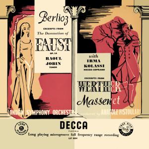 Album Berlioz: La damnation de Faust; Massenet: Werther – Excerpts from Irma Kolassi