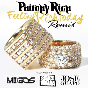 Listen to Feeling Rich Today (Remix) song with lyrics from Philthy Rich