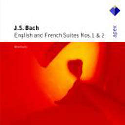 Album Bach, JS : English & French Suites Nos 1 & 2 (-  Apex) from Alan Curtis