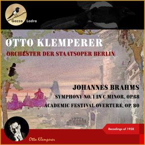 Otto Klemperer的專輯Johannes Brahms: Symphony No. 1 in C Minor, Op.68 - Academic Festival Overture, Op. 80