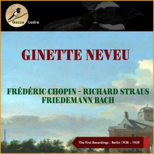 Album The First Recordings - Berlin 1938-39 from Bruno Seidler-Winkler