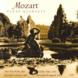 Album Mozart - Flute Quartets from Eriko Sato