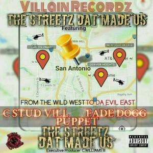 Album The Streetz Dat Made Us! from C-stud Vill
