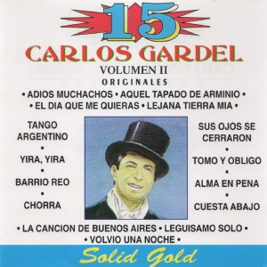 Carlos Gardel的專輯15 Originales, Vol. 2