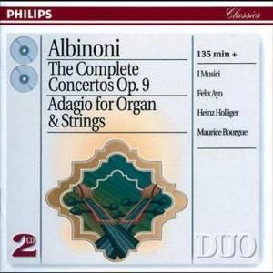Album Albinoni: The Complete Concertos/Adagio for Organ & Strings from Maria Teresa Garatti