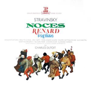 Stravinsky: Noces, Renard & Ragtime