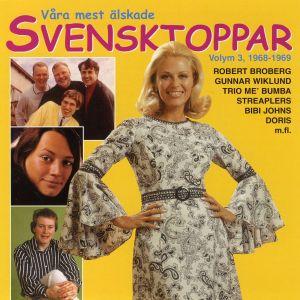 Album Våra mest älskade Svensktoppar, Volym 3 - 1968-1969 from Blandade Artister