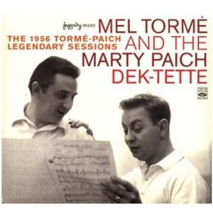 Mel Tormé的專輯The 1956 Tormé-Paich Legendary Sessions