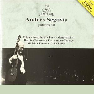安德烈斯·塞戈維亞的專輯Andrés Segovia: Guitare Recital