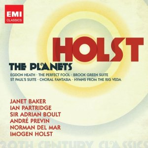 Chopin----[replace by 16381]的專輯Gustav Holst - Brook Green Suite; Planets Suite