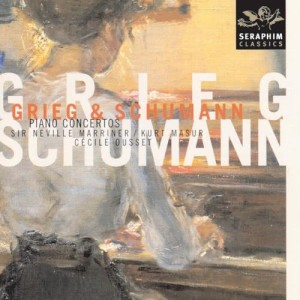 Album Grieg & Schumann - Piano Concertos In A Minor from Cecile Ousset
