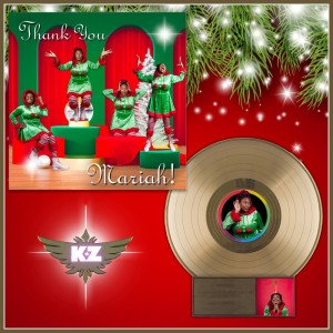 Album THANK YOU MARIAH from Kaleena Zanders