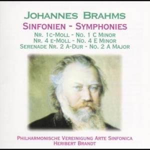 Philharmonische Vereinigung Arte Sinfonica的專輯Brahms: Sinfonien Nr. 1 & 4