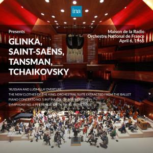 Jean-Baptiste Mari的專輯INA Presents: Glinka, Saint-Saëns, Tansman, Tchaikovsky by Orchestre National de France at the Maison de la Radio