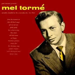 Mel Tormé的專輯Gene Norman Presents Mel Torme