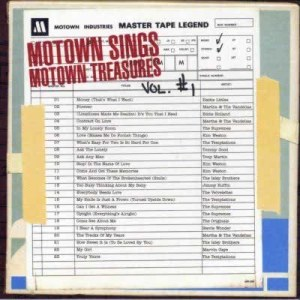 Motown Sings Motown Treasures 2004 Various Artists