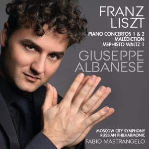 Album Liszt: Piano Concertos from Giuseppe Albanese