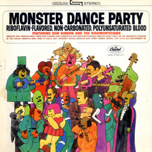 Monster Dance Party 1964 Don Hinson & The Rigamorticians
