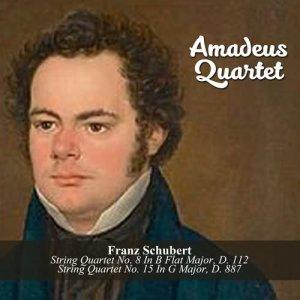 Album Franz Schubert: String Quartet No. 8 In B Flat Major, D. 112 / String Quartet No. 15 In G Major, D. 887 from Amadeus Quartet