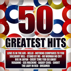 Album 50 Greatest Hits from D.J.Disco Records